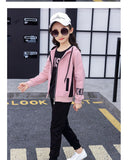 Children's Clothing Girls Fall Casual Set In The Big Kids Fashion Foreign Gas Sports Three Set Autumn 12 Year Old Girl Clothes