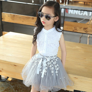 Children Clothing 2019 Summer Toddler Girls Clothes 2pcs Outfits Kids Tracksuit For Girls Clothing Sets Teenage Girls Sport Suit