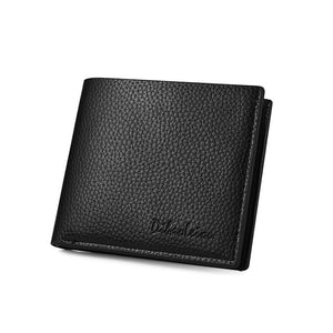 Men Wallet Leather Luxury  Fashion Purse Thin Short Mini Slim Cute Small High Quality Purse Wallet for Credit Card