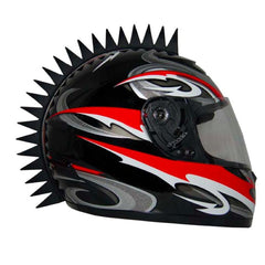Image of Motorcycle Helmet Mohawk