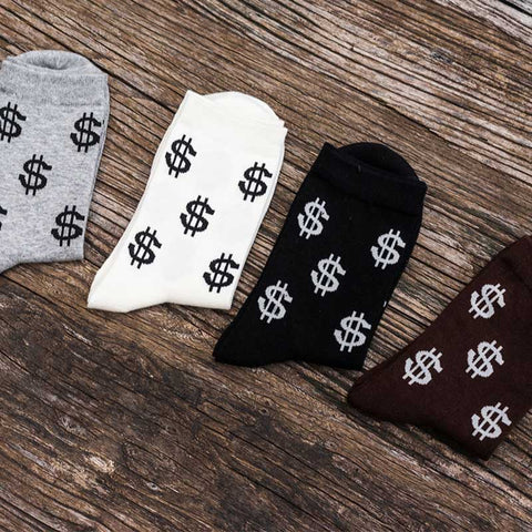 Dollar Design Socks