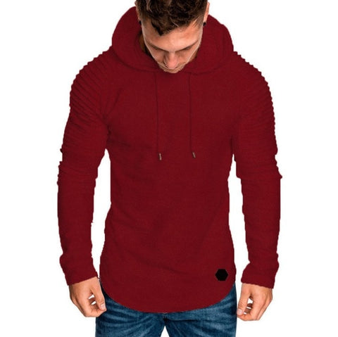 Body Wraps Men Hoodie