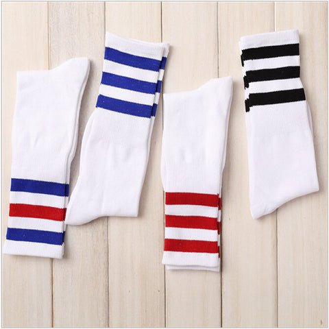 Stripe Tube Socks