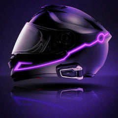 Image of Motorcycle Helmet LED Light