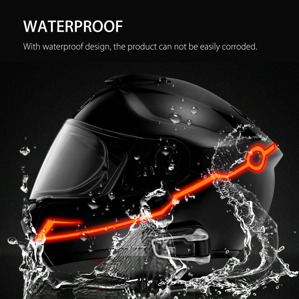 Motorcycle Helmet LED Light