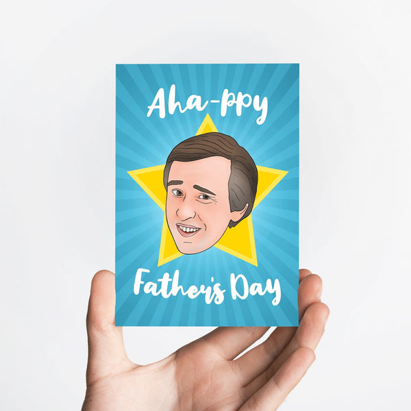 Aha Father's Card Native 21 Greetings Card