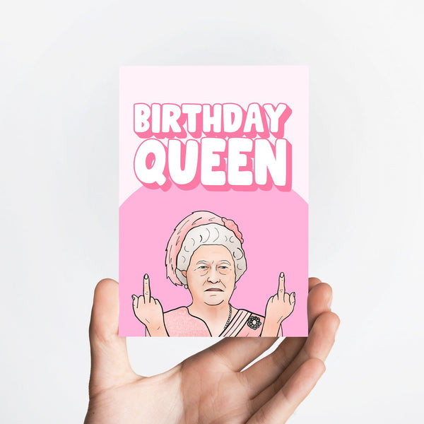 Birthday Queen Card Native 21 Greetings Card