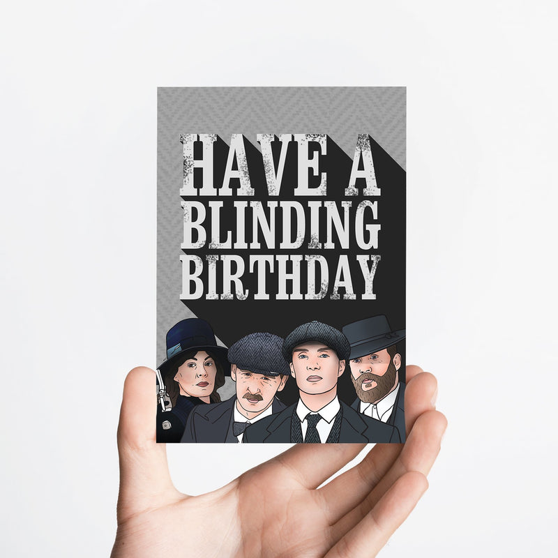 Blinding Card Native 21 Greetings Card