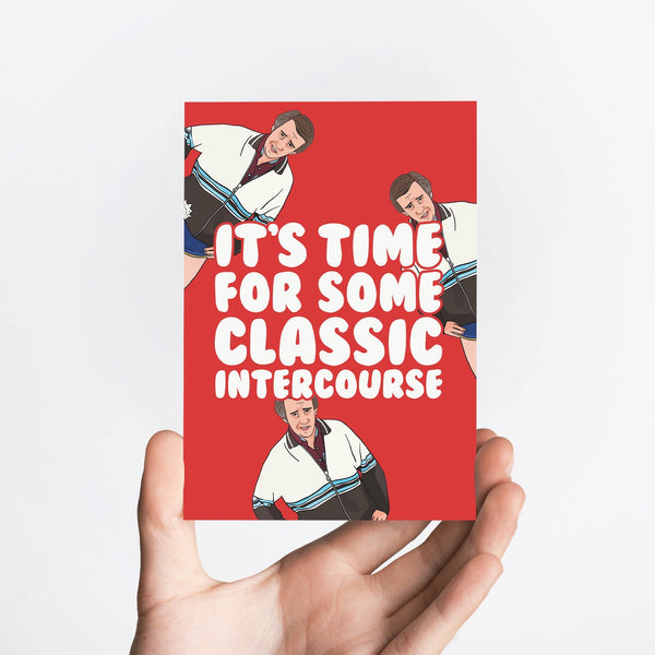 Classic Intercourse Card Native 21 Greetings Card