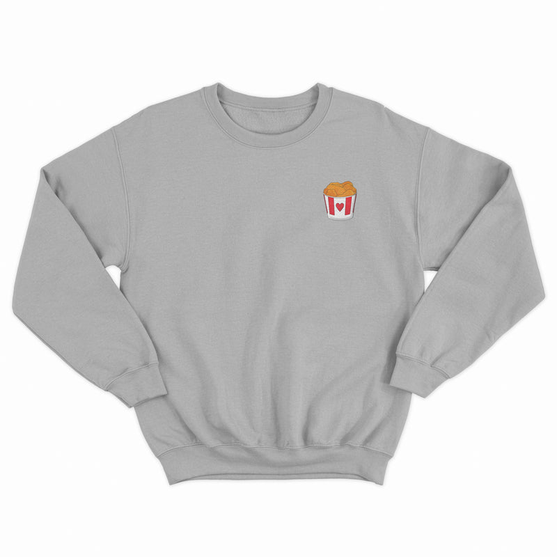 Embroidered Fried Chicken Sweatshirt Native 21 Clothing