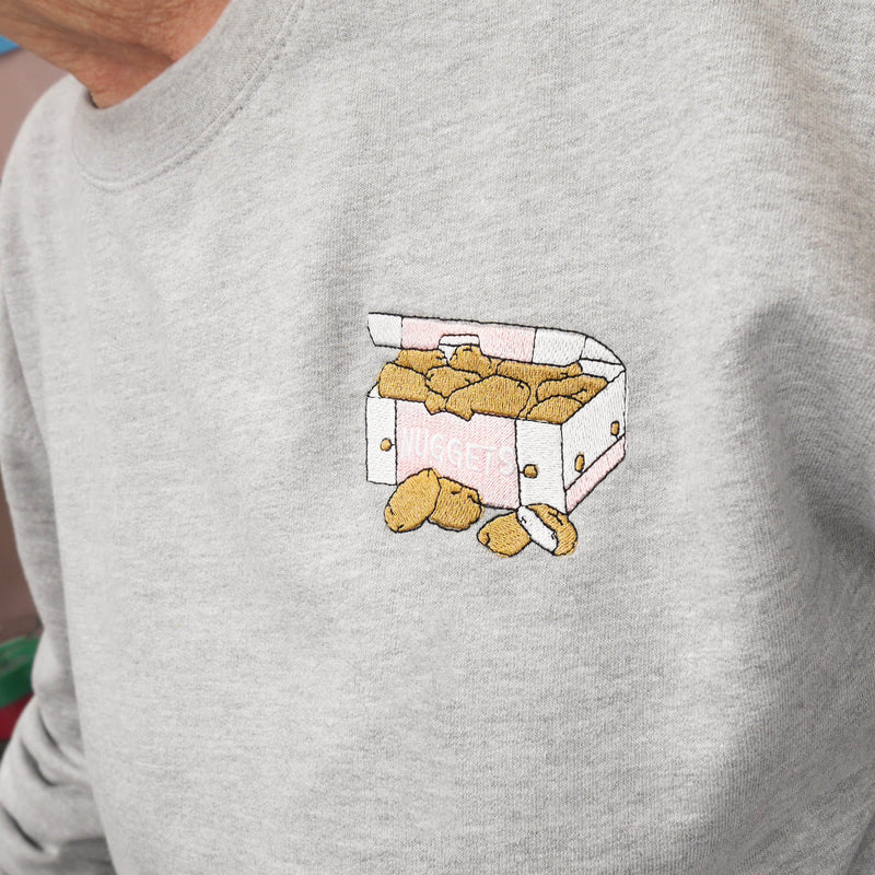 Embroidered Nugg Life Sweatshirt Native 21 Suggested Products