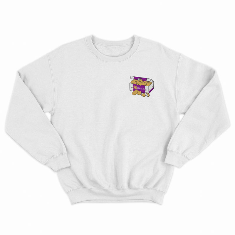 Embroidered Nuggets Sweatshirt Native 21 Clothing