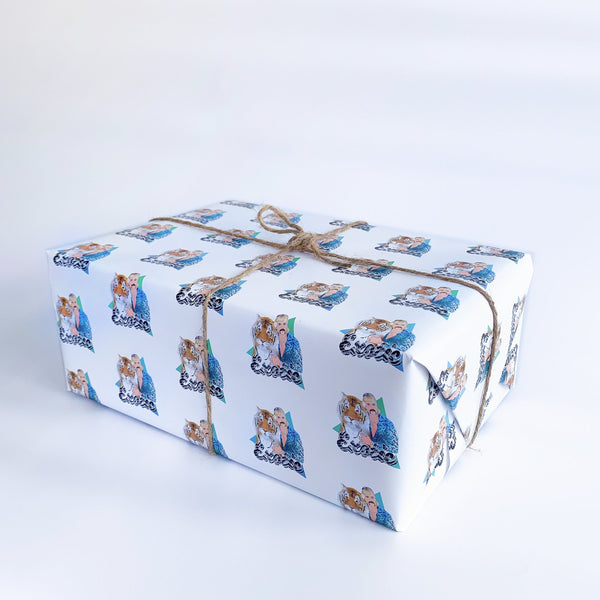 Exotic Gift Wrap Native 21 Gift Wrap