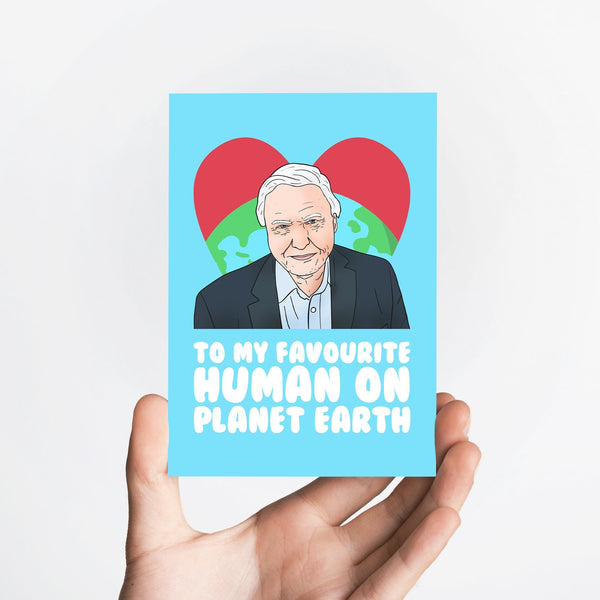 Favourite Human Card Native 21 Greetings Card
