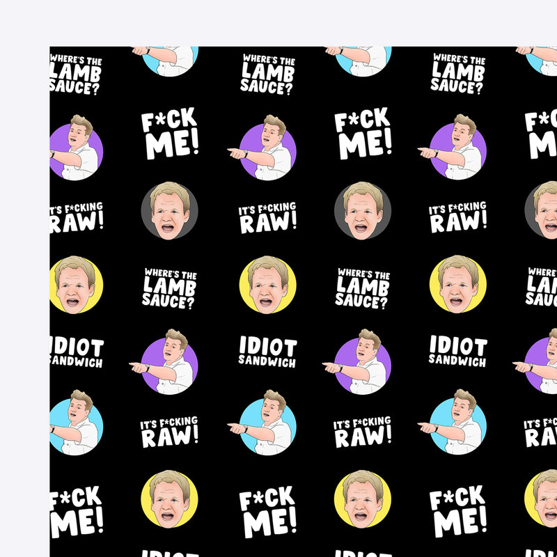 Idiot Sandwich Gift Wrap Native 21 Gift Wrap