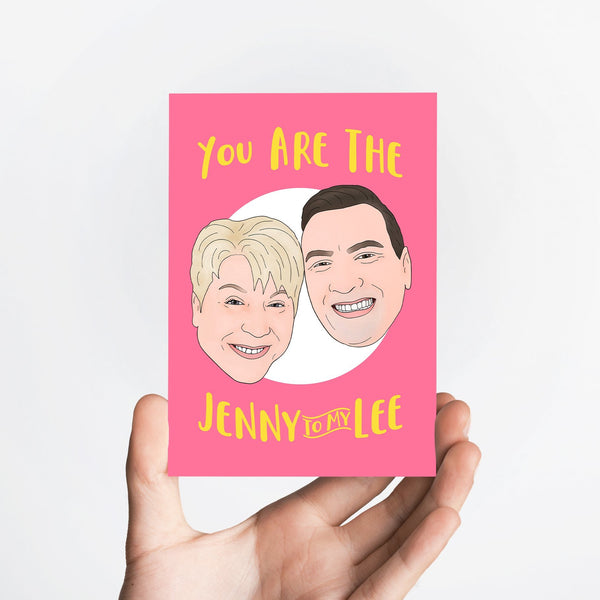 Jenny and Lee Card Native 21 Greetings Card