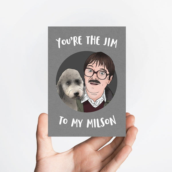 Jim and Milson Card Native 21 Greetings Card