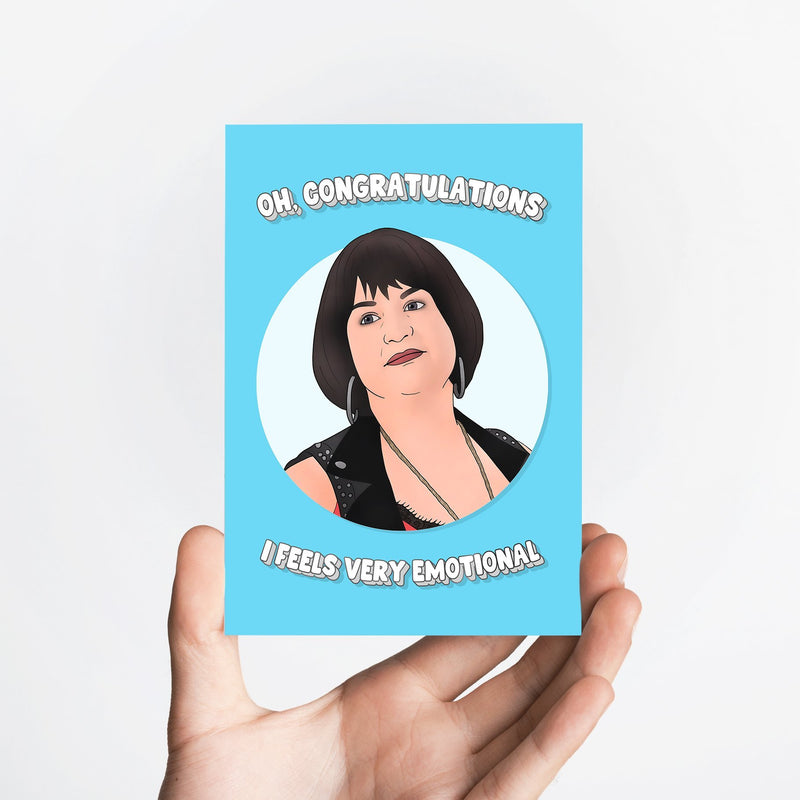 Oh Congrats Card Native 21 Greetings Card