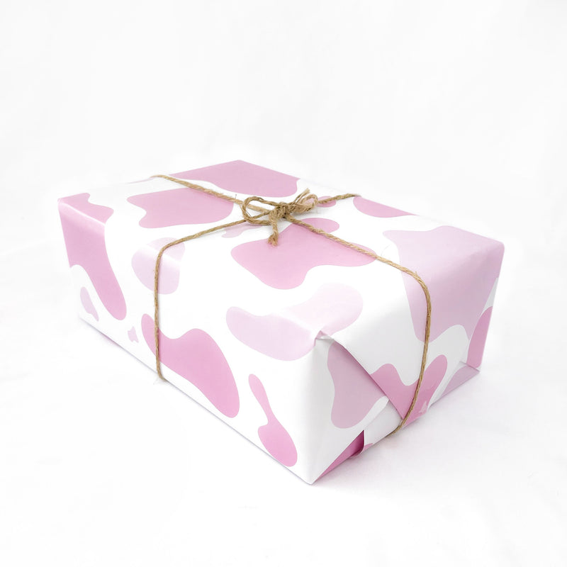 Pink Cow Gift Wrap Native 21 Gift Wrap