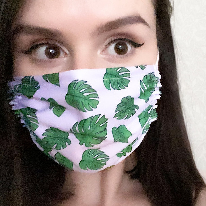 Plant Mom Mask Native 21 Face Masks