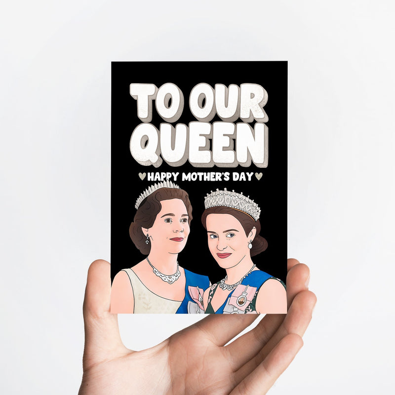 Queen Mother's Day Card Native 21 Greetings Card