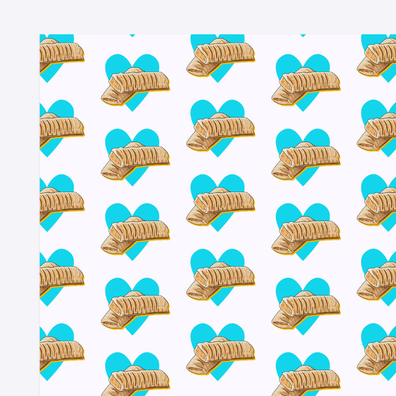Sausage Roll Gift Wrap Native 21 Gift Wrap
