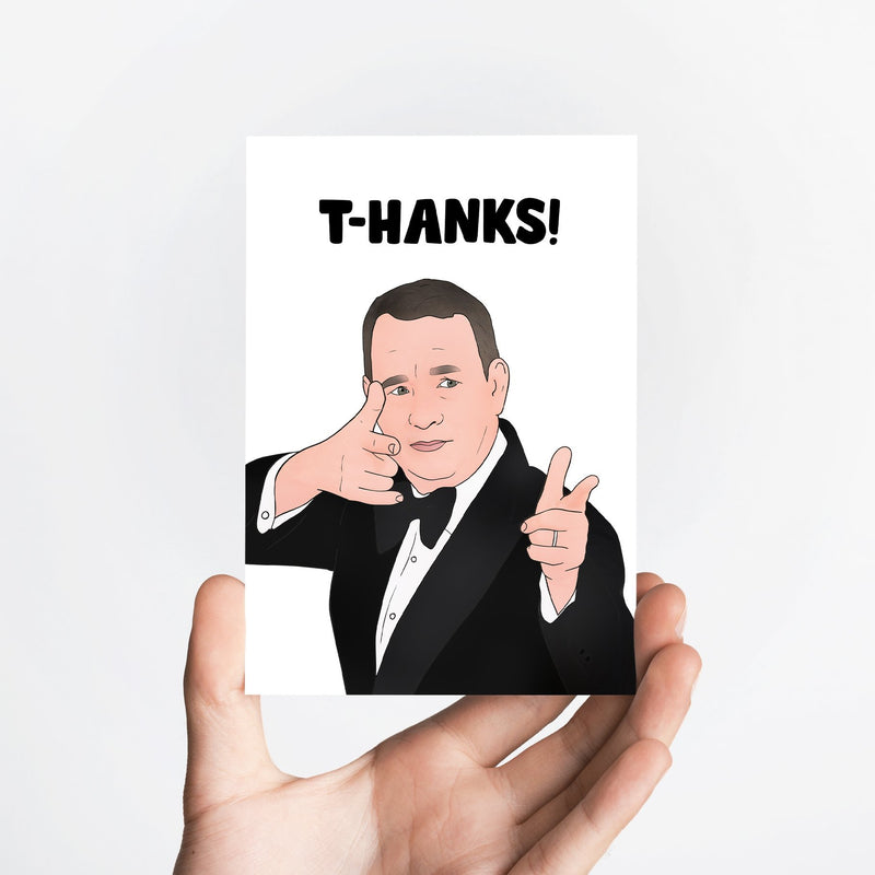 T-Hanks Card Native 21 Greetings Card