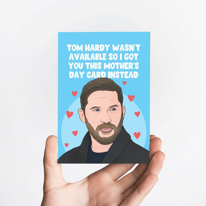 Tom Hardy Mother's Day Card Native 21 Greetings Card