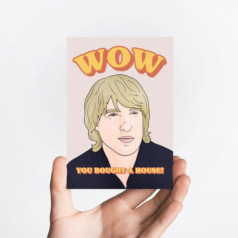 Wow House Card Native 21 Greetings Card