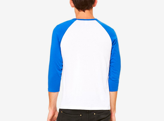 Long-sleeve · Bella+Canvas · 3200 Unisex 3/4 Sleeve Baseball Tee
