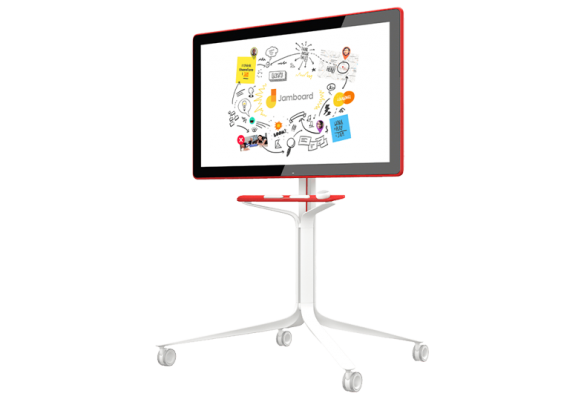 Google Jamboard (red) incl. stand