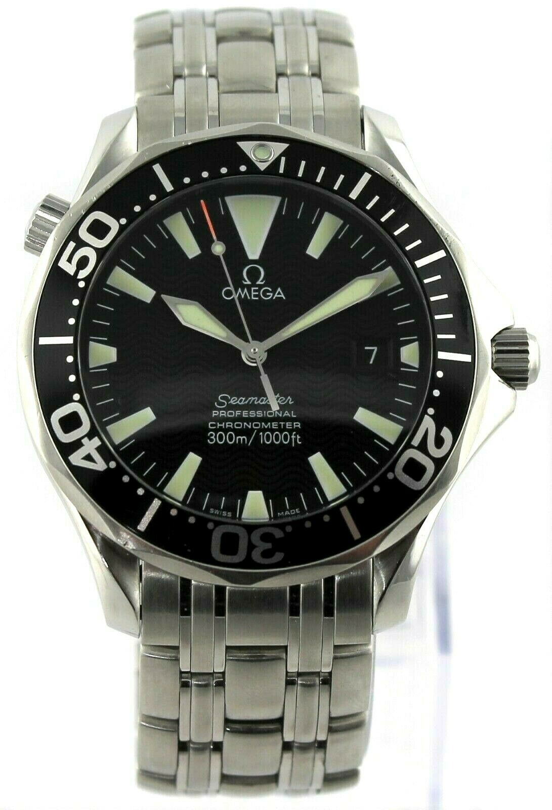 OMEGA SEAMASTER 2054.50 PROFESSIONAL AUTOMATIC LARGE CHRONOMETER BLACK WATCH