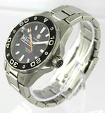 TAG HEUER AQUARACER WAJ1110.BA0871 500M DIVER BLACK SWISS QUARTZ MENS WATCH