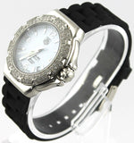 TAG HEUER FORMULA 1 WAC1215.BT0711 DIAMOND LADIES RUBBER SWISS QUARTZ WATCH