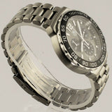 TAG HEUER FORMULA 1 CAU1115.BA0850 GREY RACING QUARTZ CHRONO MENS SWISS WATCH