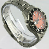TAG HEUER AQUARACER WAJ1113.BA0870 500M DIVER ORANGE SWISS QUARTZ MENS WATCH