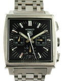 TAG HEUER MONACO CW2111.BA0780 AUTOMATIC CHRONOGRAPH STEEL BLACK MENS WATCH