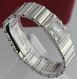 OMEGA CONSTELLATION 1528.46 LADIES QUADRA 38 DIAMOND ACCENTED SWISS LUXURY WATCH