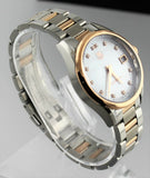 GIFT IDEA TAG HEUER LADIES CARRERA WAR1352.BD0779 DIAMOND ROSE GOLD PEARL WATCH