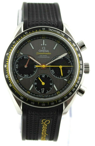 OMEGA SPEEDMASTER 326.32.40.50.06.001 AUTOMATIC CHRONOGRAPH RACING RUBBER WATCH