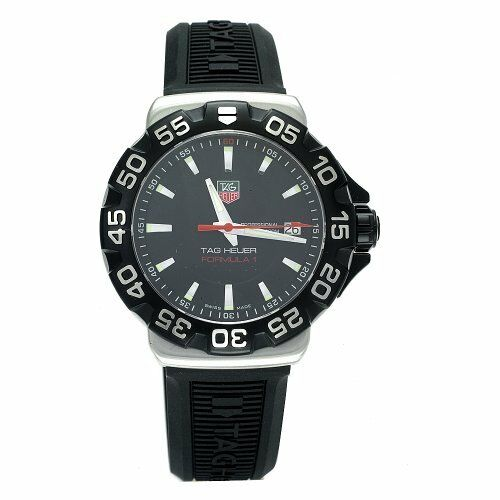 TAG HEUER FORMULA 1 WAH1110.BT0714 BLACK RUBBER QUARTZ WATCH GREAT GIFT IDEA