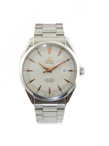OMEGA SEAMASTER AQUA TERRA 2502.34 AUTOMATIC CO-AXIAL ROSE GOLD MENS MINT WATCH