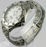 OMEGA SEAMASTER 2542.20 BOND DIVER QUARTZ STEEL PROFESSIONAL GREAT WHITE WATCH