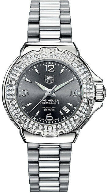 GIFT IDEA TAG HEUER LADIES FORMULA 1 WAC1218.BA0852 DIAMOND LADIES SWISS WATCH