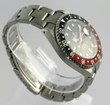 ROLEX GMT MASTER II 16710 AUTOMATIC OYSTER DATE RED BLACK WATCH BOX AND PAPERS