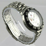 TAG HEUER FORMULA 1 WAH111B.BA0850 ALARM QUARTZ SILVER STEEL MENS SPORTS WATCH