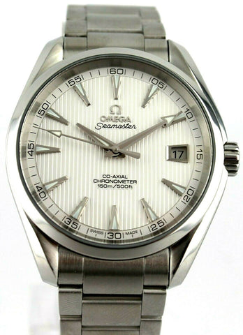 OMEGA SEAMASTER AQUA TERRA 231.10.42.21.02.001 AUTOMATIC CO-AXIAL MINT WATCH BOX