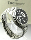 LUXURY TAG HEUER GRAND CARRERA CAV511A.BA0902 AUTOMATIC BLACK WATCH WARRANTY