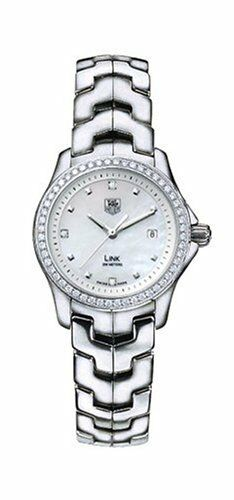 GIFT IDEA TAG HEUER LADIES LINK WJF1318.BA0572 DIAMOND PEARL LADIES LUXURY WATCH