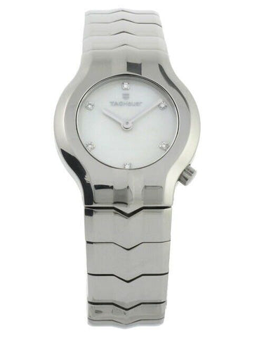 AMAZING TAG HEUER LADIES ALTER EGO WAA1418.BA0760 DIAMOND MOTHER OF PEARL WATCH